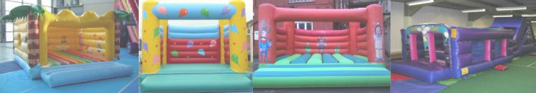 Bouncy Castle & Inflatable PIPA & RPII Testing in Hampshire